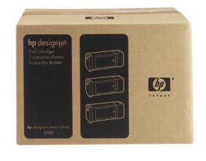 HP no 90 - černý 3ink multipack, C5095A