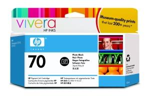 HP no 70 foto. černá inkoustová kazeta, C9449A