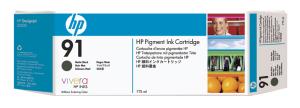 HP no 91 - matná černá ink. kazeta, C9464A