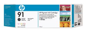 HP no 91 -  foto černá ink. kazeta, C9465A