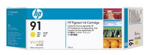 HP no 91 - žlutá ink. kazeta, C9469A
