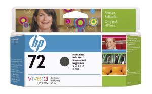 HP no 72 - matná černá ink. kazeta, C9403A