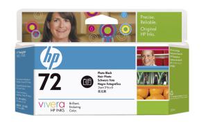 HP no 72 - foto černá ink. kazeta, C9370A - C9370A