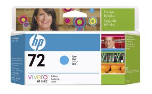 HP no 72 - azurová ink. kazeta, C9371A - C9371A