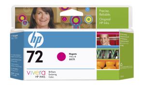 HPno  72 - purpurová ink. kazeta, C9372A