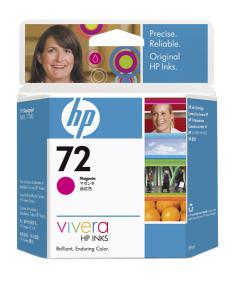 HP no 72 -  purpurová ink. kazeta, C9399A