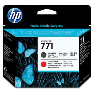 HP no 771 - černá/červená tisková hlava, CE017A