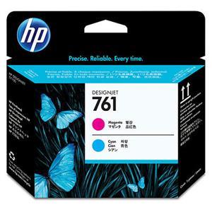 HP no 761 - purp/azur tisková hlava, CH646A