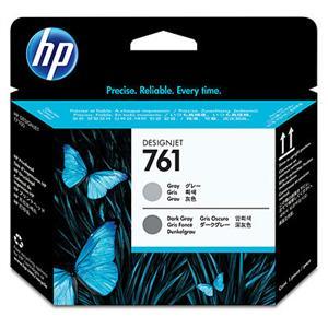 HP no 761 - šedá tisková hlava, CH647A