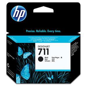 HP no 711 - černá inkoustová kazeta velká, CZ133A