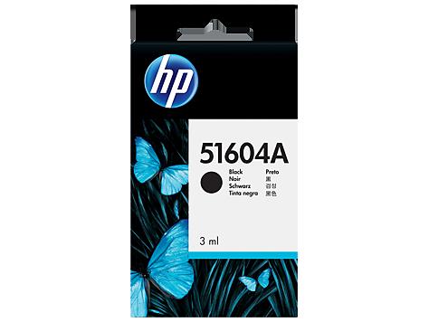 HP černá ink. kazeta na běžný papír,51604A