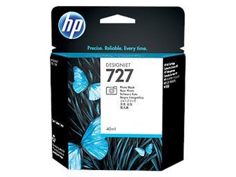 HP no 727 - černá foto inkoustová kazeta, B3P17A