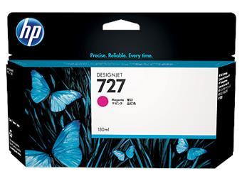 HP no 727 - purpurová ink.kazeta velká, B3P20A