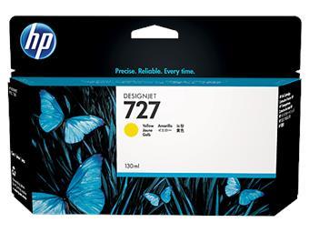 HP no 727 - žlutá inkoustová kazeta velká, B3P21A