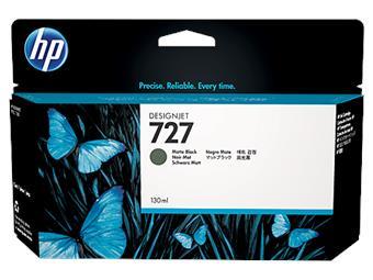 HP no 727 - černá matná ink.kazeta velká, B3P22A