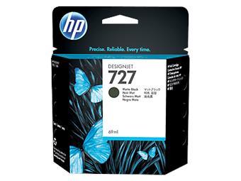 HP no 727 - černá matná ink.kazeta, C1Q11A