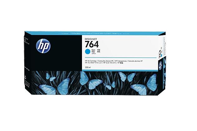 HP no 764 azurová ink. kazeta, C1Q13A