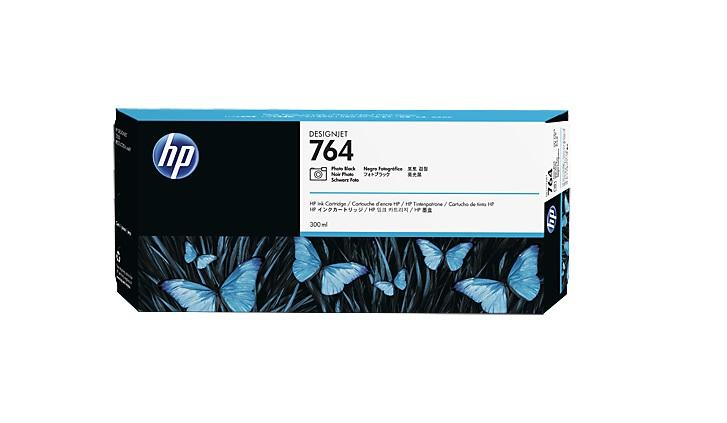 HP no 764 foto černá ink. kazeta, C1Q17A