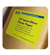 HP Semi-Gloss Photo Paper - role 42
