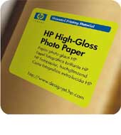 HP High-Gloss Photo Paper - role 42""