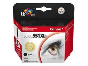 Ink. kazeta TB kompat. s Canon CLI-551XL BK Black