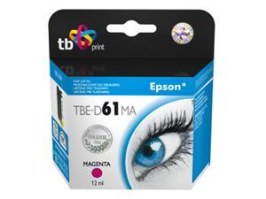 Ink. kazeta TB kompatibilní s Epson T0613 Magenta