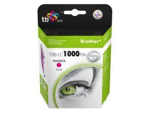 Ink. kazeta TB kompat. s Brother LC1000M 100% N