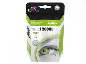 Ink. kazeta TB kompat. s Brother LC1280XLY 100% N