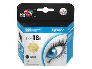Ink. kazeta TB kompat. s Epson T1801 Bk 100% New