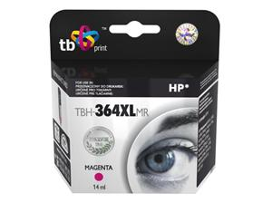 Ink. kazeta TB kompat. s HP CB324EE (No.364), TBH-364XLMR, Magenta