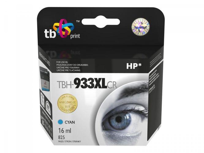 Ink. kazeta TB kompat. s HP PS Pro 8100, Cyan ref