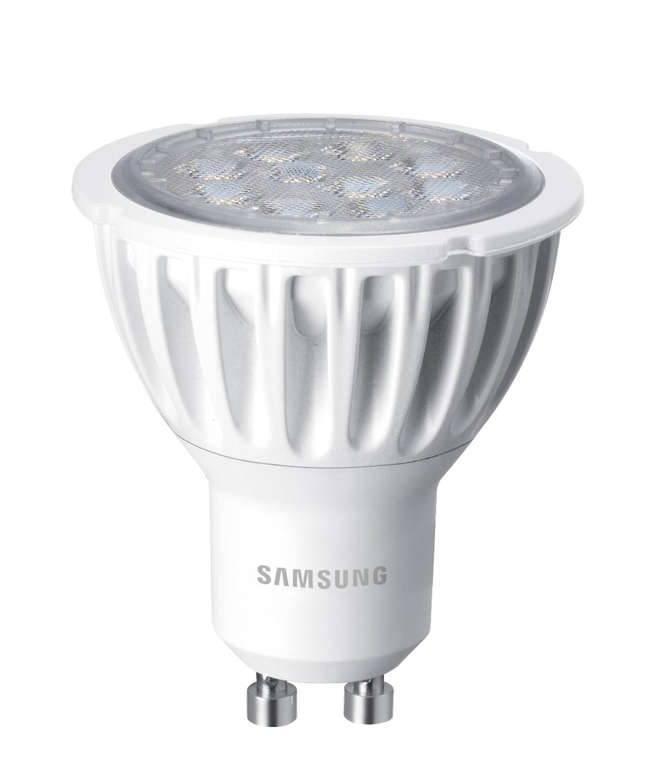 Samsung LED žárovka - GU10 - 3,3W - 230V - 220L - teplá bílá