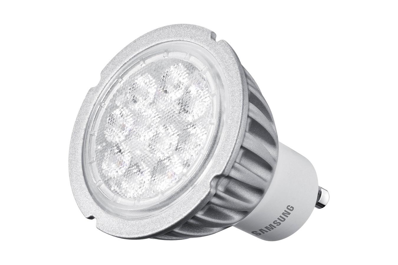 Samsung LED žárovka - GU10 - 4,6W - 230V - 320L - teplá bílá