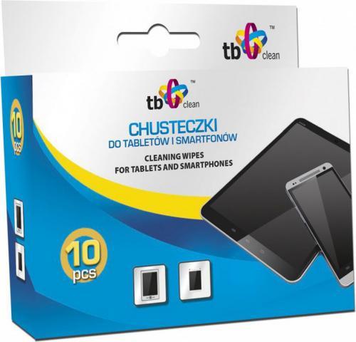 TB Clean Ubrousky pro telefony a tablety, 10 ks - ABTBCU000CHTS10