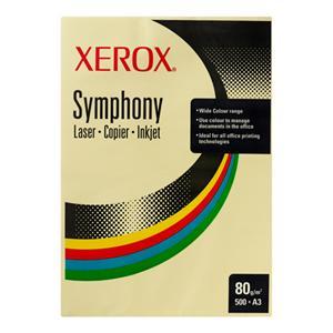 XEROX pastel 80 gsm A4  žlutá 5 x 500 listů