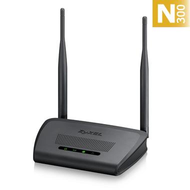 ZYXEL Router WLAN N300, 4x100Mbps, NBG-418N v2 - NBG-418NV2-EU0101F