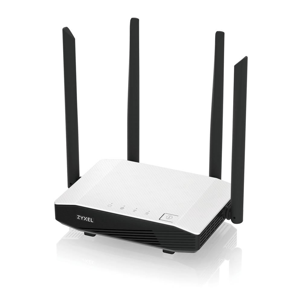 ZYXEL NBG6615 AC1200 MU-MIMO DB Wi-Fi GB Router - NBG6615-EU0101F