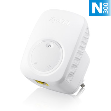 ZYXEL WLAN N300 range ext./repeater WRE2206 - WRE2206-EU0101F