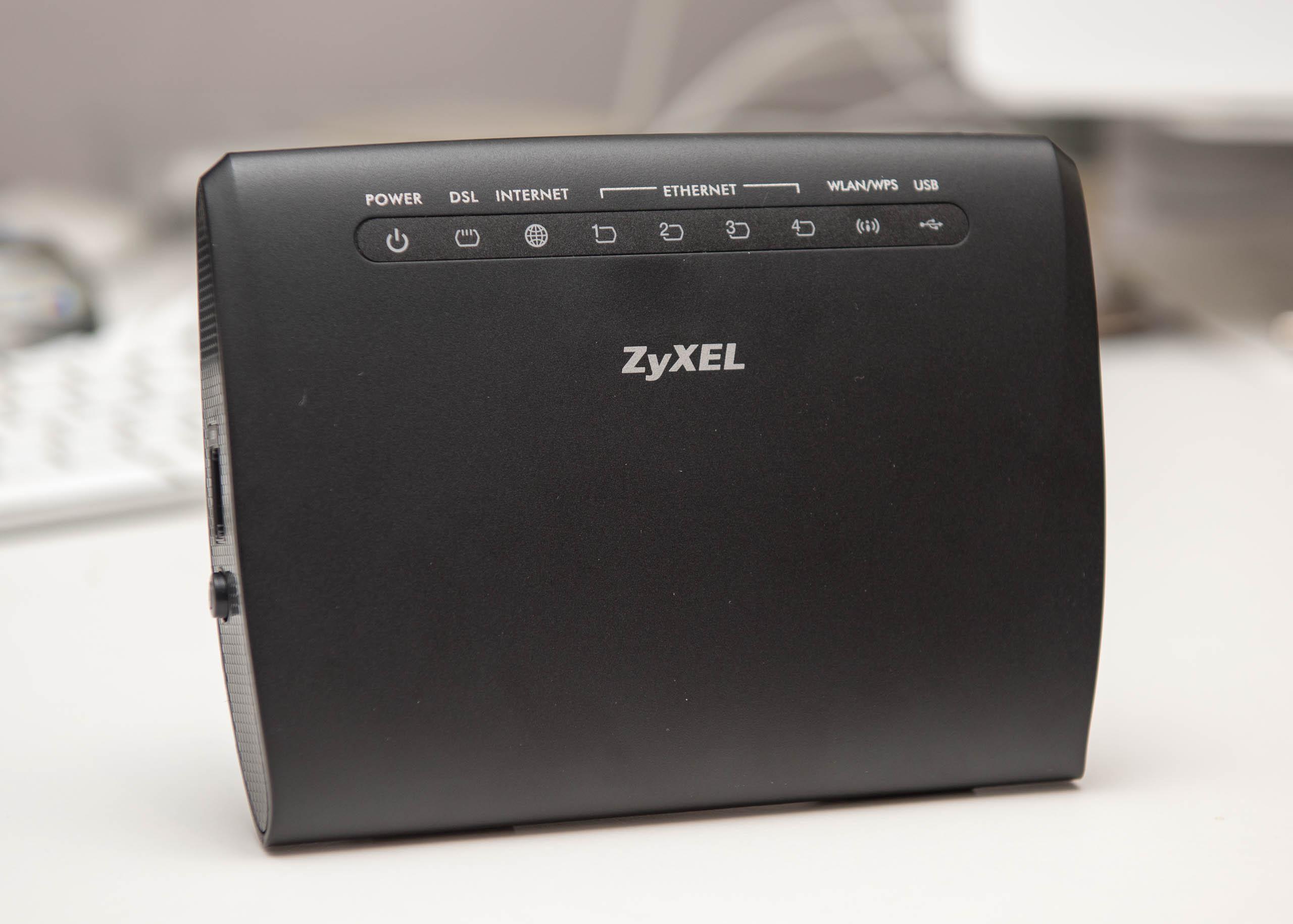 ZyXEL ADSL2+ over POTS router Ann-A AMG1302T-11C