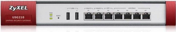 ZYXEL USG210 (Device only) - USG210-EU0103F