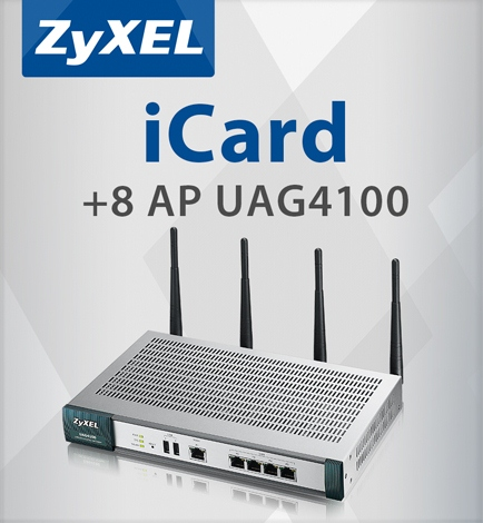 ZyXEL E.icard 8AP UAG4100 license