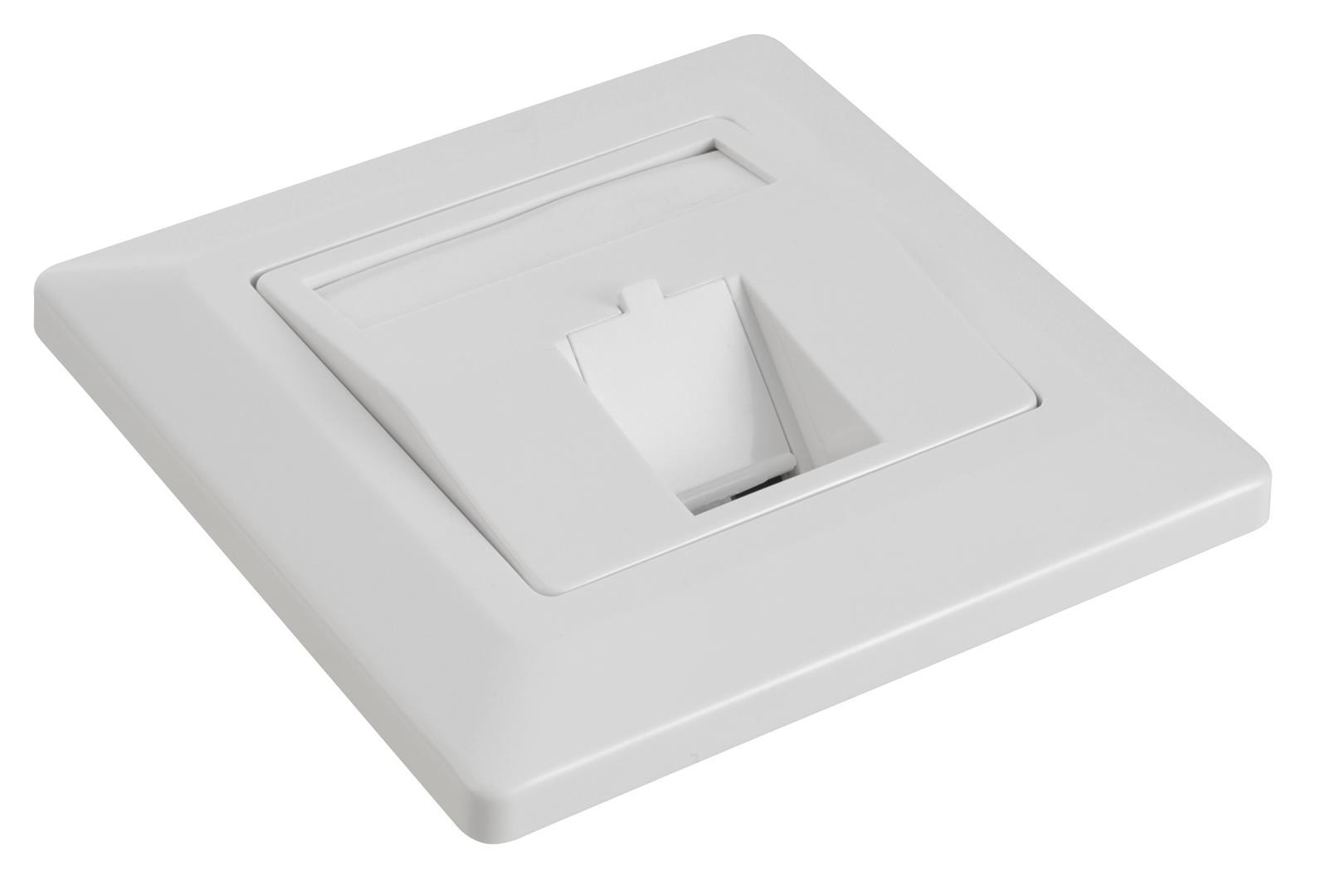 Zásuvka modulární Solarix pro 1 keystone - SX9-1-0-WH