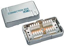 Spojovací box CAT6 STP 8p8c LSA+/Krone