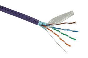 Inst.kabel Solarix CAT5E FTP LSOH 305m/box drát - SXKD-5E-FTP-LSOH