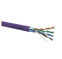 Instalační kabel Solarix CAT5E FTP LSOH 500m/cívka drát