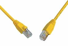 Patch kabel CAT5E SFTP PVC 20m žlutý