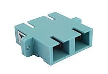 Adaptér SC MM OM3 duplex - SXAD-SC-PC-OM3-D