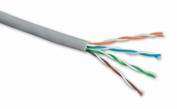 Instal. kabel Solarix CAT5e UTP PVC 305m/box drát - SXKD-5E-UTP-PVC