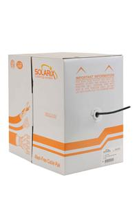 Venkovní inst. kabel Solarix CAT5e FTP PE 305m/box - SXKD-5E-FTP-PE
