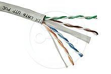 Instalační kabel Solarix CAT6 UTP PVC 500m drát